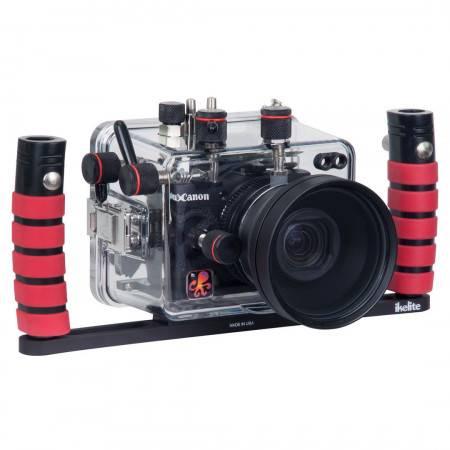 Platine appareil photo double poignées Ikelite
