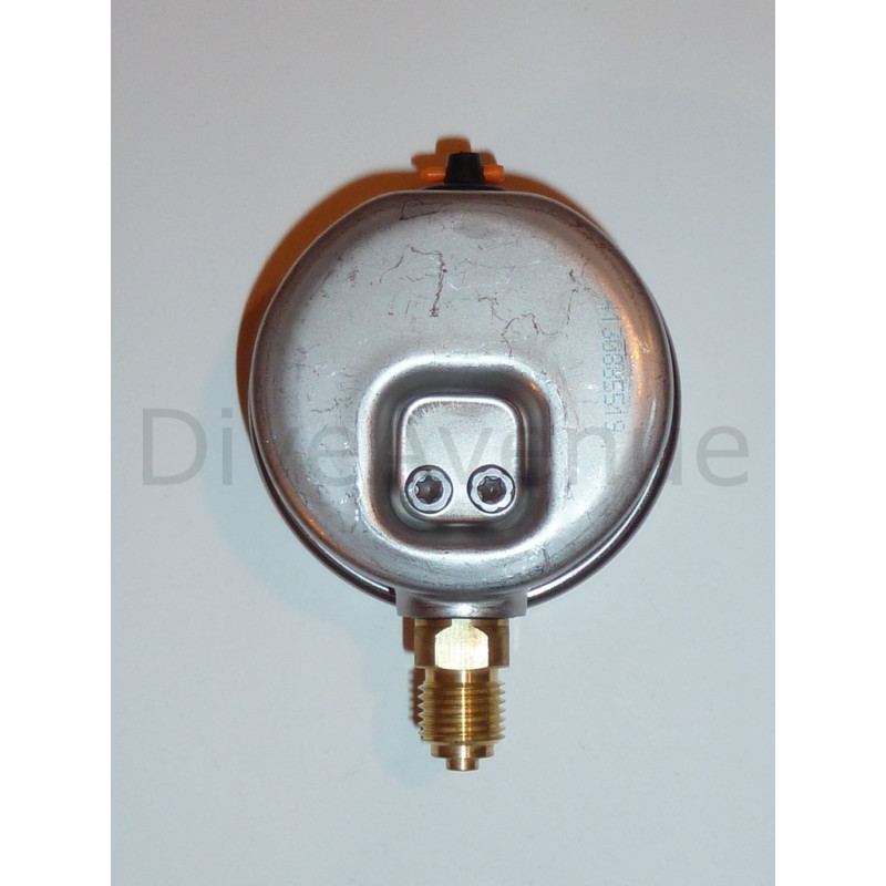 Vertical pressure gauge 0-16bars stainless steel dia. 63mm