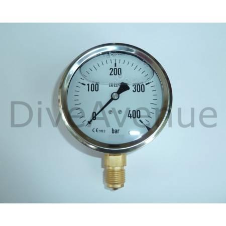 Vertical pressure gauge...