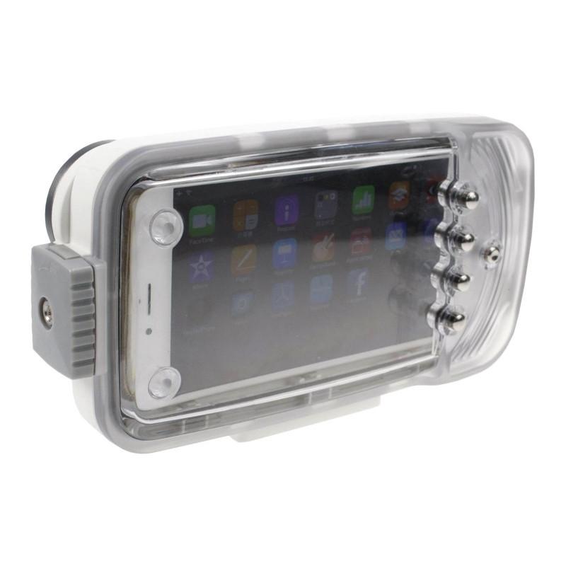 IPhone 6+ waterproof housing I-Pix-A6W+ White