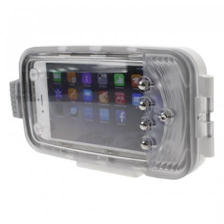 Caisson étanche pour iPhone 6+ - I-Pix-A6W+ Blanc