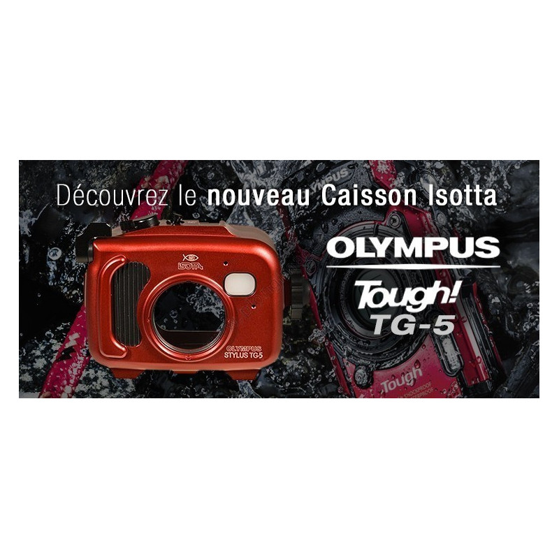 Pack caisson ISOTTA et OLYMPUS TG5