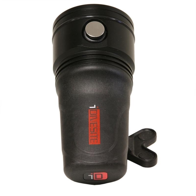 Phare I-Torch PRO 8 monoled - 3000 lumens + rouge