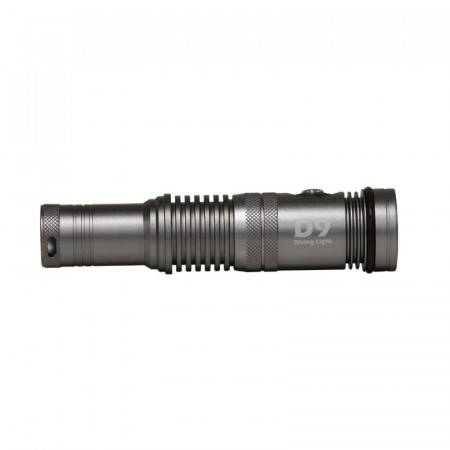 Diving led light I-Torch Fish-Lite D9-1200Lm at 120°