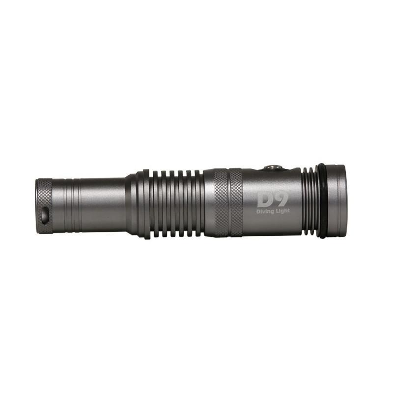 Diving led light I-Torch Fish-Lite D9-1200Lm at 120°