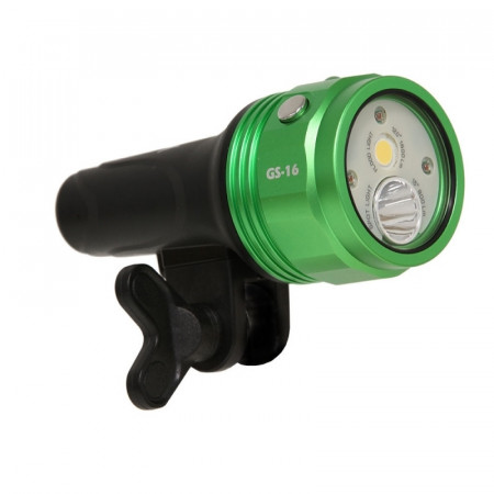 Phare vidéo explo I-Torch Fish-Lite GS-16 - 1600Lm