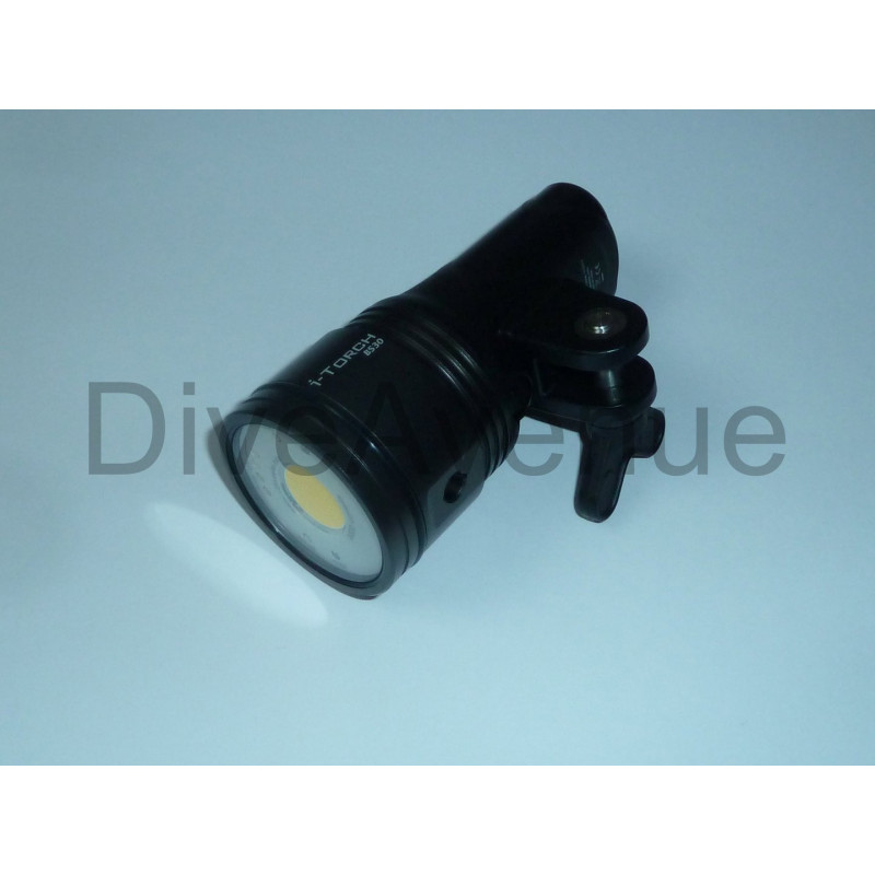 Phare video I-Torch BlackStar BS30 monoled 3000Lm