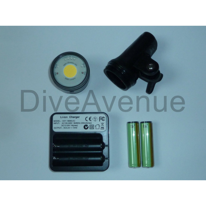 Video light I-Torch BlackStar BS30 monoled 3000Lm