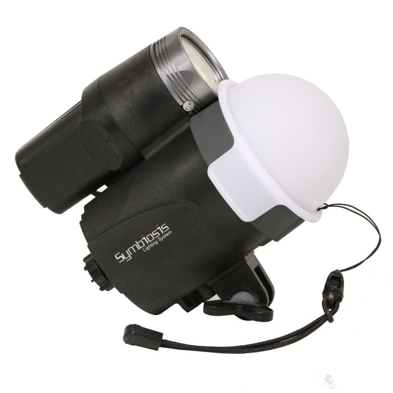Light cupola distributor for I-Torch Symbiosis