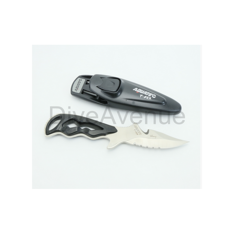 Dive knife Aquatec T-Rex stainless steel