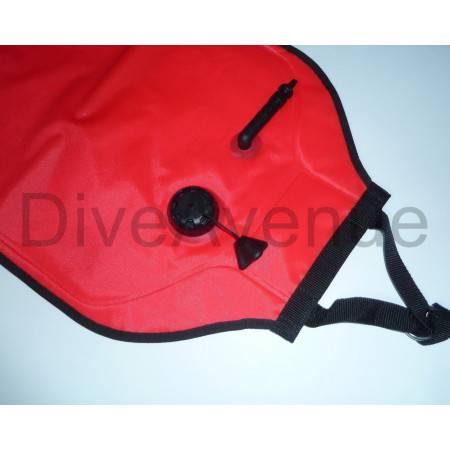 Parachute de relevage 30kg en TPU fermé avec valve inflateur