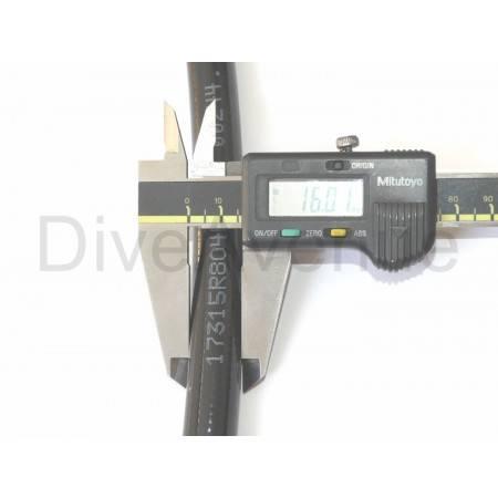 Lyre de transfert DIN-DIN 300bar avec manomètre - 180cm long