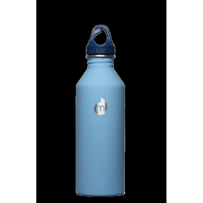 Gourde inox Mizu M8 800ml bleue