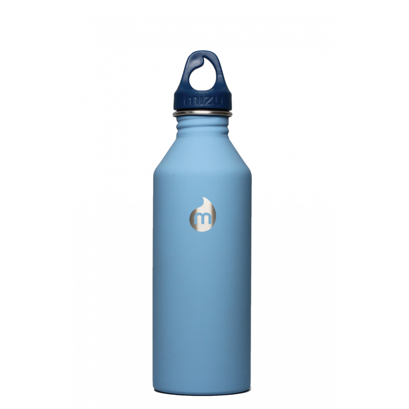 Mizu M8 stainless steel bottle 800ml blue