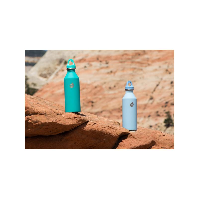 Mizu M8 stainless steel bottle 800ml blue