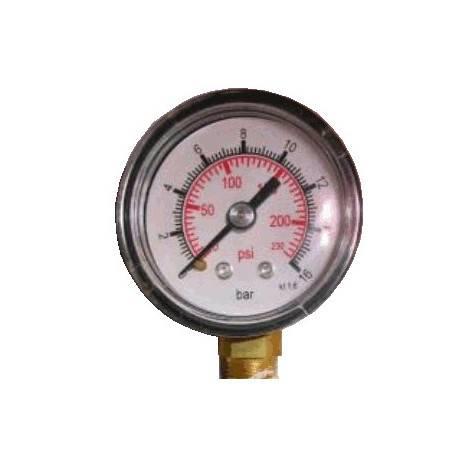 Pressure gauge 0-16BAR -...