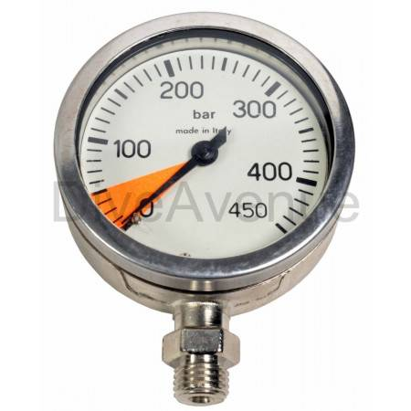 0-450bars underwater spare pressure gauge 63mm