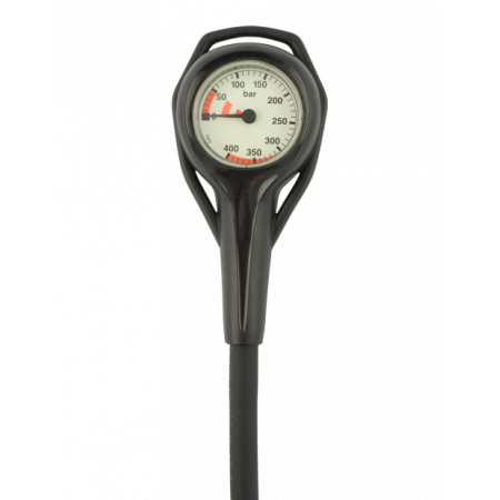 Scuba air manometer 45mm 400 BAR - 80cm hose