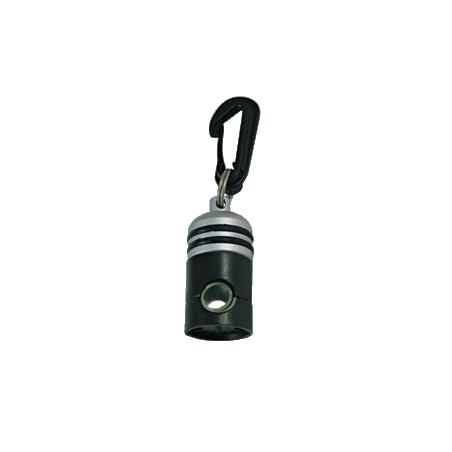 Magnetic holder for octopus regulator.