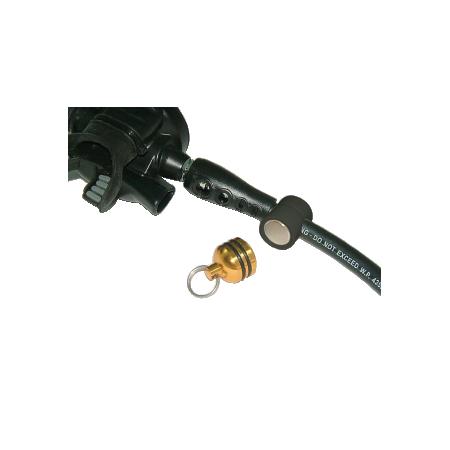 Clip magnétique de maintien détendeur octopus