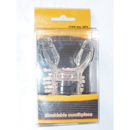 Moldable regulator mouthpiece