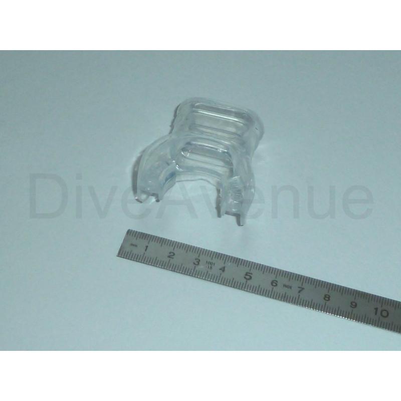 Silicon scuba regulator mouthpiece for children