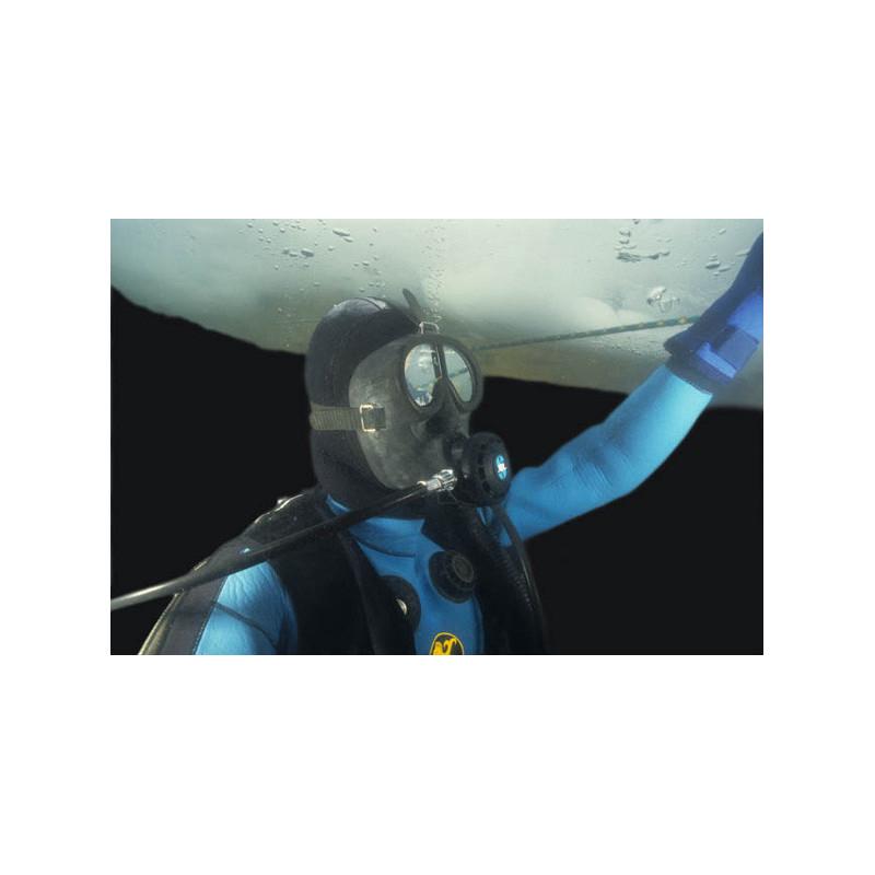 Masque facial de plongée