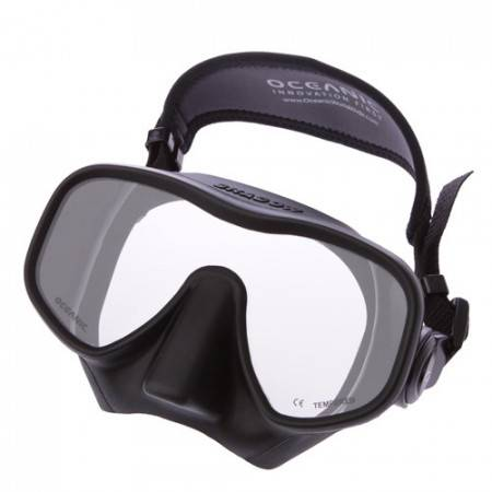 Mask OCEANIC Shadow BLACK or CLEAR