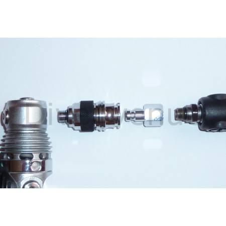 Male BOV/Regulatorquick connector 3/8-24 thread