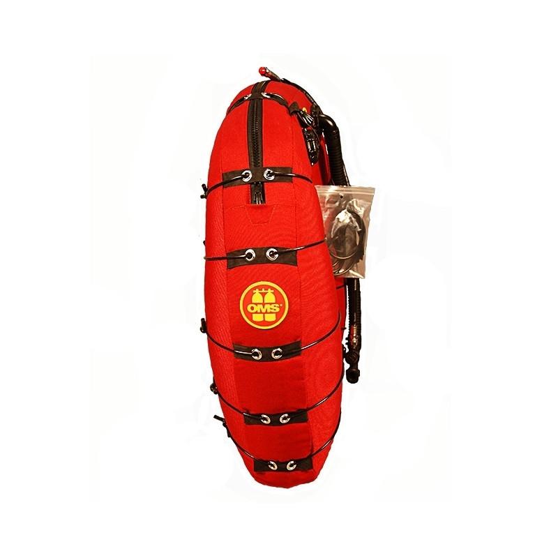 Wing Deep Ocean rouge 27Litres simple enveloppe OMS