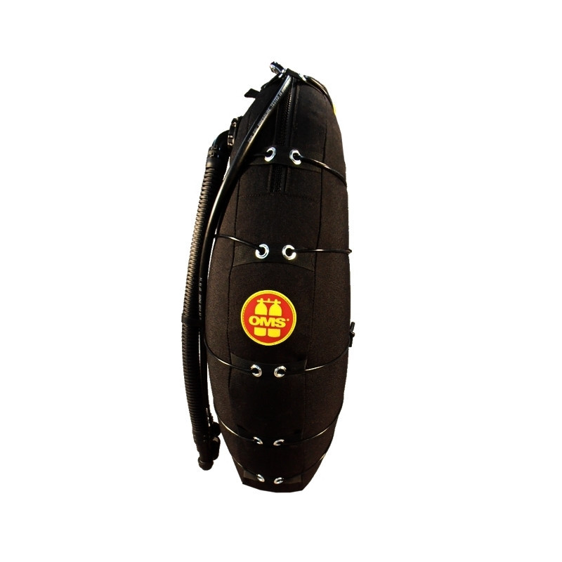 Wing Deep Ocean noire 42Litres simple enveloppe OMS