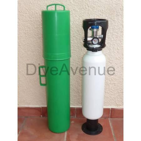Etui protecteur pour bouteille d'oxygène plongée