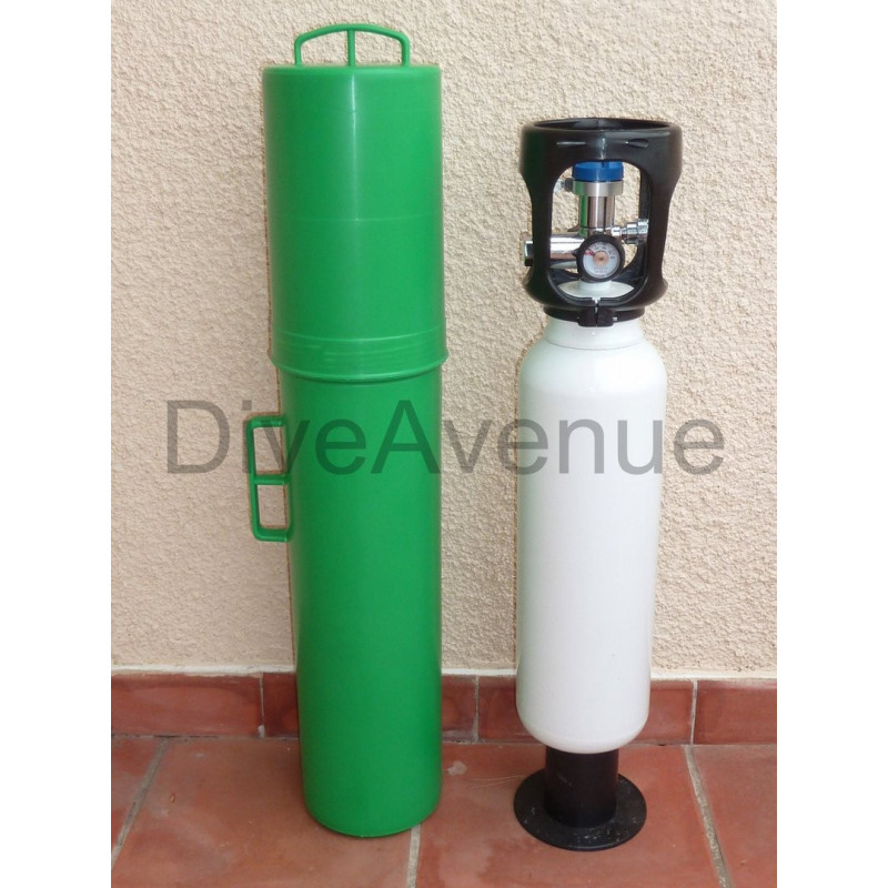 Insert for safety oxygen kit protection carrying case