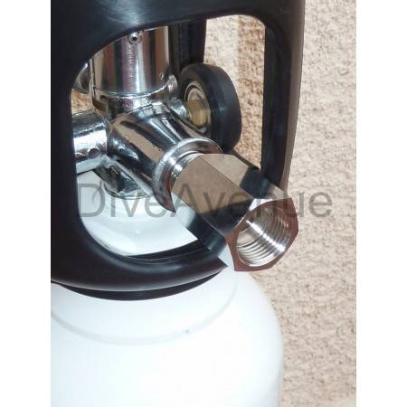 Fill adaptor for DIVEAVENUE oxygen kit