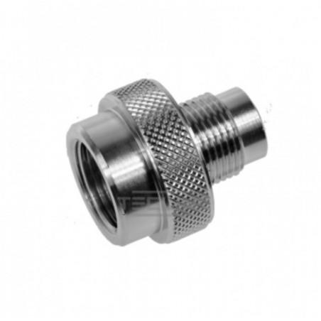 Male adaptor DIN 5/8 to female M26x200