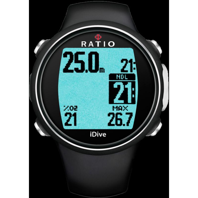 Ordinateur Nitrox Ratio iDive Easy Sport