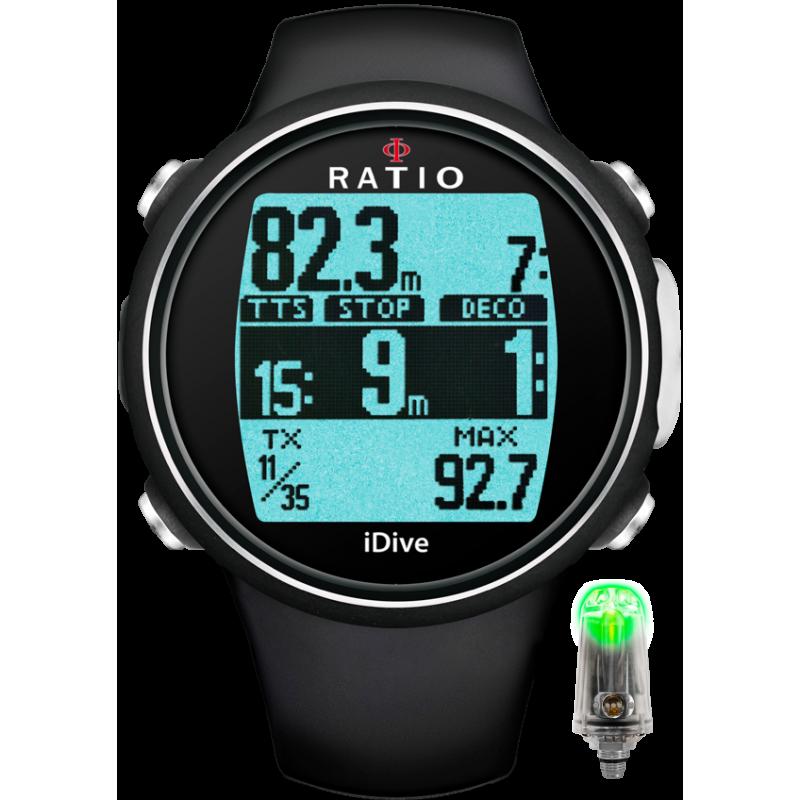 Ordinateur Ratio iDive Sport TECH+