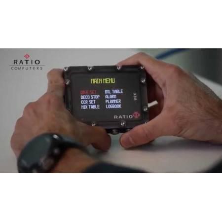 Trimix dive computer RATIO iX3M [Gps] DEEP
