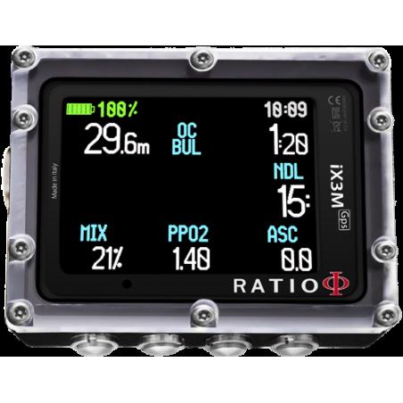 Ordinateur de plongée Recycleur Ratio IX3M [Gps] Reb