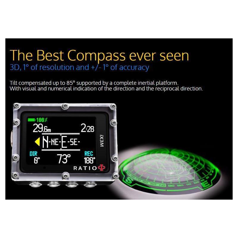 CCR dive computer RATIO iX3M [Gps] REB