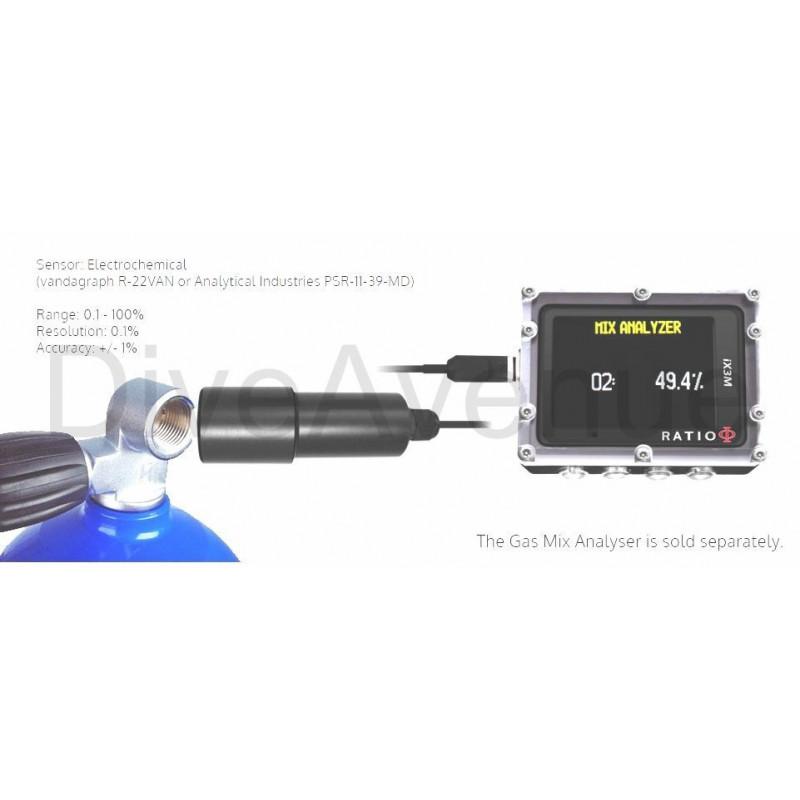 Ordinateur de plongée Trimix Ratio IX3M[Gps]TECH+