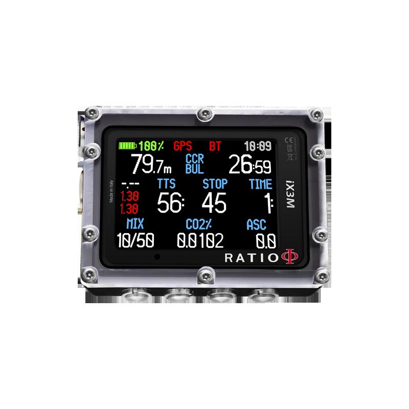 OCCASION : Ordinateur de plongée Trimix Ratio IX3M[Gps]TECH+