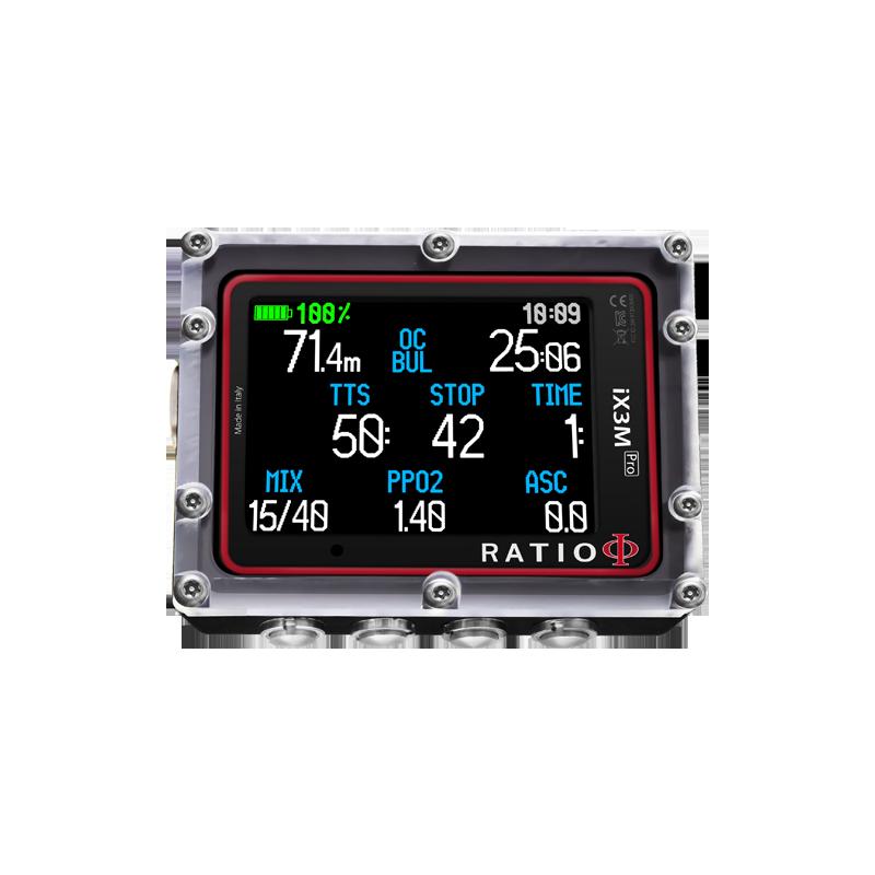 Ratio IX3M [Pro] EASY Nitrox dive computer