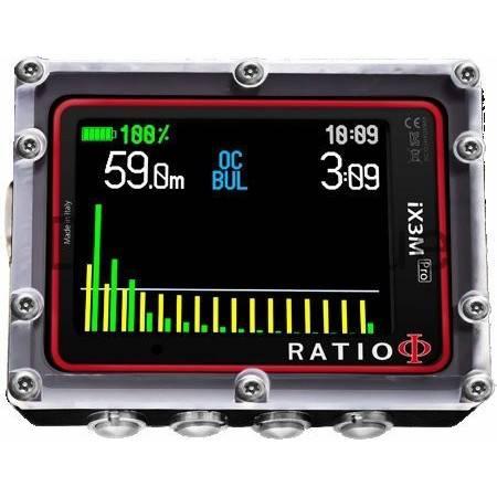 Ordinateur de plongée Nitrox Ratio IX3M [Pro] EASY