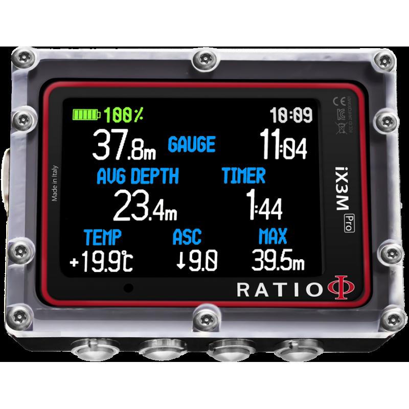 Ordinateur Trimix Ratio IX3M [Pro] DEEP