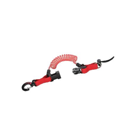 Standard stretch shockline with closing clip