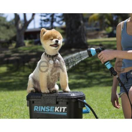 RINSEKIT pressurized and portable shower