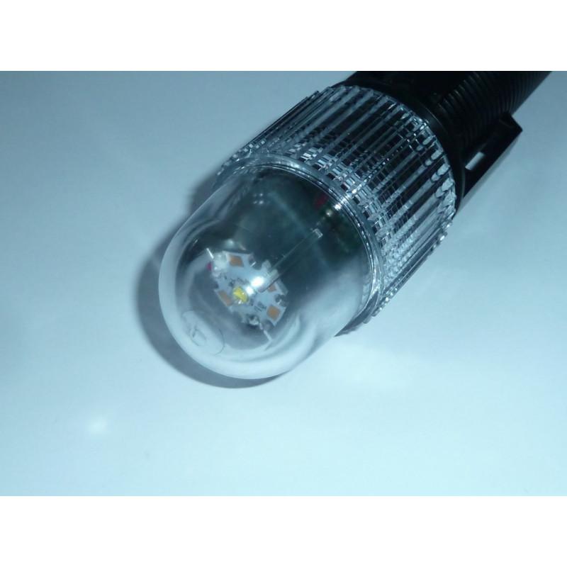 Flashlight 7W STROBE 200 TEKTITE 150m deep