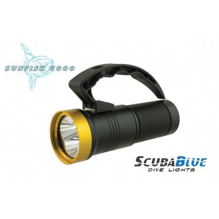 Scuba power light SCUBABLUE SUNFISH 4000 - 15°