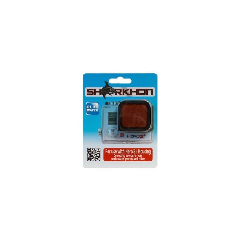 Filtre rouge eau bleue pour GoPro Hero3+/4 Sharkhon